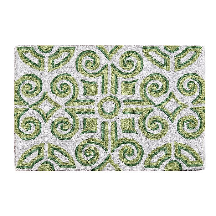 Alternate image 1 for Boxwood Abbey 2' x 3' Wool Accent Rug in Green