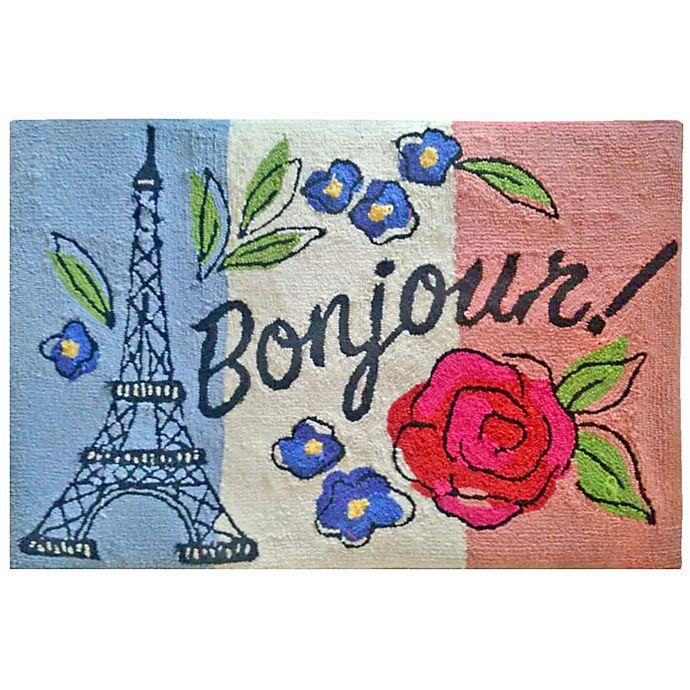 Alternate image 1 for Liora Manne Frontporch 2' x 3' Bonjour Accent Rug