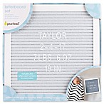 Pearhead® Felt Letter Board Set in Grey