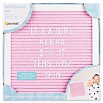 Pearhead® Felt Letter Board Set in Pink