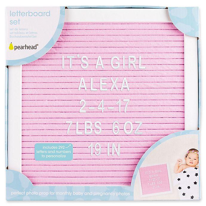 Alternate image 1 for Pearhead® Felt Letter Board Set