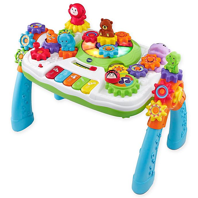 VTech® GearZooz™ 2-in-1 Jungle Friends Gear Park™ Activity Table ... 470c2a82790f4