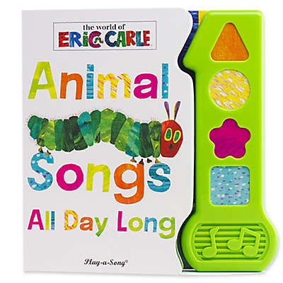 Baby's First Animal Songs Songbook by Eric Carle