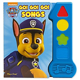 Nickelodeon™ Paw Patrol Go Go Go Songs Book