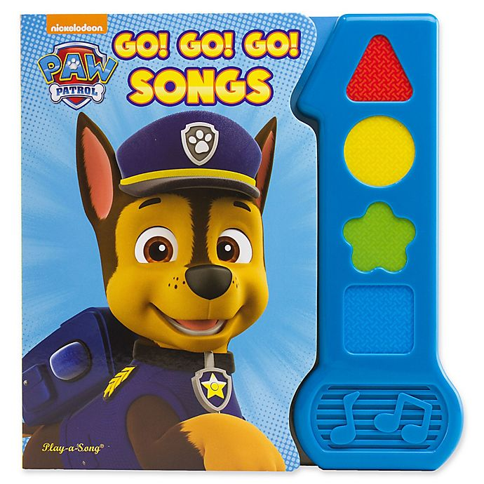Alternate image 1 for Nickelodeon™ Paw Patrol Go Go Go Songs Book