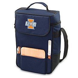 NCAA Collegiate Duet Insulated Cooler Tote - University of Illinois