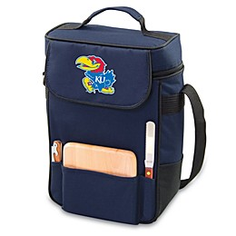 NCAA Collegiate Duet Insulated Cooler Tote - University of Kansas