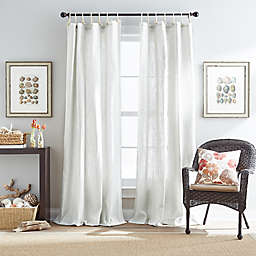 Destinations Seattle Sheer Rope-Top Window Curtain Panel Collection