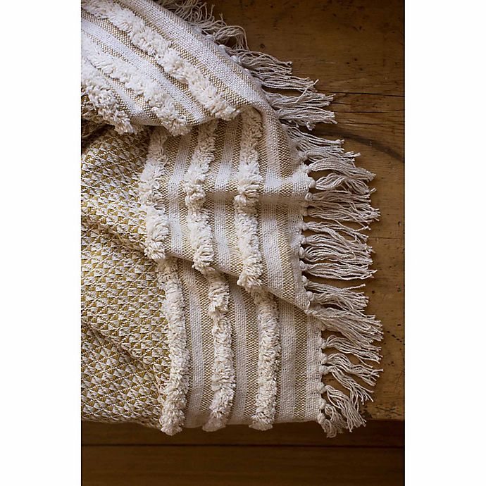 Alternate image 1 for Magnolia Home by Joanna Gaines Mackie Throw Blanket <table></table>