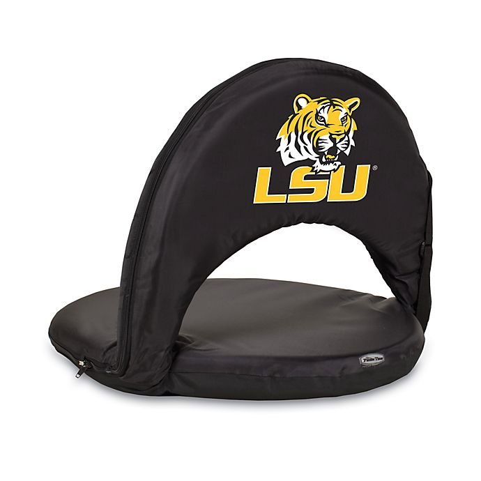 Alternate image 1 for Picnic Time® Louisiana State University Collegiate Oniva Seat in Black