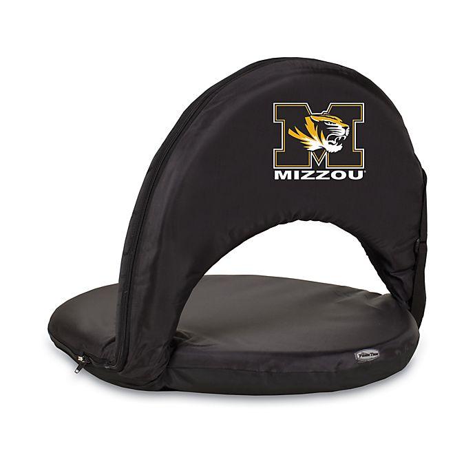 Alternate image 1 for Picnic Time® University of Missouri Collegiate Oniva Seat in Black