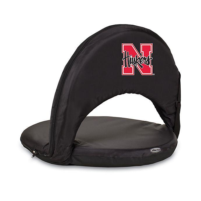 Alternate image 1 for Picnic Time® University of Nebraska Collegiate Oniva Seat in Black