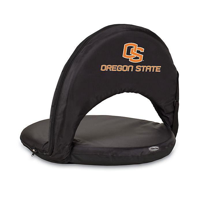 Alternate image 1 for Picnic Time® Oregon State University Collegiate Black Oniva Seat