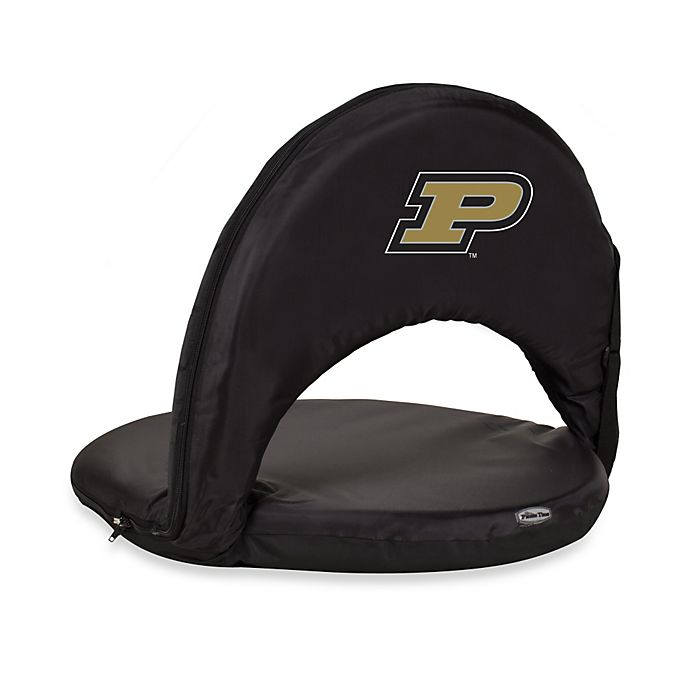 Alternate image 1 for Picnic Time® Purdue University Collegiate Oniva Seat in Black