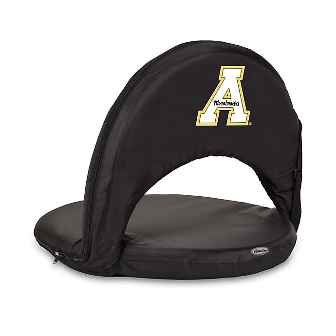 Alternate image 1 for Picnic Time® Appalachian State University Collegiate Oniva Seat in Black