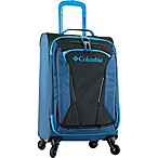 Columbia Kiger 21-Inch Expandable Softside Spinner Carry On in Blue/Black