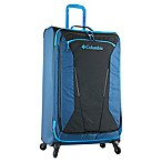 Columbia Kiger 31-Inch Expandable Softside Spinner Upright in Blue/Black