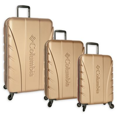 Columbia Cascade 3 Piece Expandable Hardside Spinner