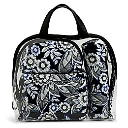 Vera Bradley® 4-Piece Travel Cosmetic Set in Snow Lotus