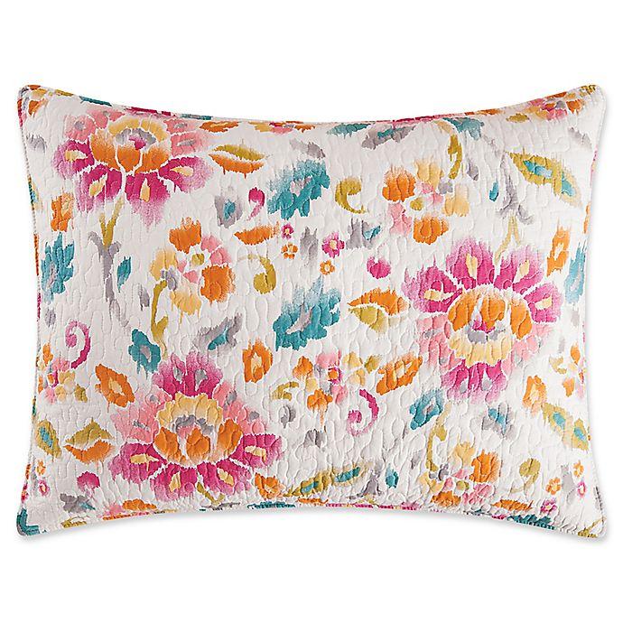 Alternate image 1 for Sasha Standard Pillow Sham in Pink