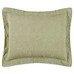 Matelassé Standard Pillow Sham in Sage