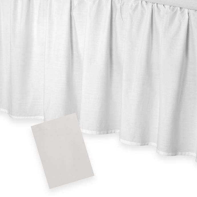 Alternate image 1 for Smoothweave™ 21-Inch Ruffled Bed Skirt