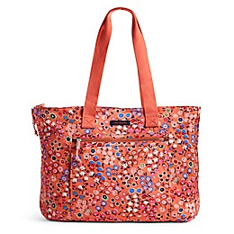 Vera Bradley® Lighten Up Expandable Tote in Coral Meadow