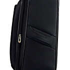 Alternate image 2 for Travelers Club® Merit 20-Inch Upright Spinner Carry On in Black