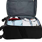 Alternate image 6 for Travelers Club® Merit 20-Inch Upright Spinner Carry On in Black