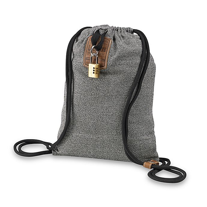 LocTote Industrial Bag Co.® Flak Sack 14-Inch Theft-Resistant Backpack in  Grey 0b7339c29aafa