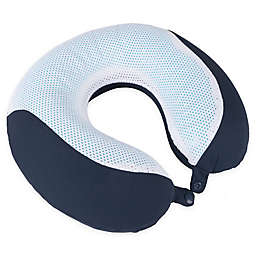 Nottingham Home Mesh Memory Foam Travel Pillow
