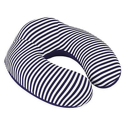 Nottingham Home Striped Memory Foam Travel Pillow