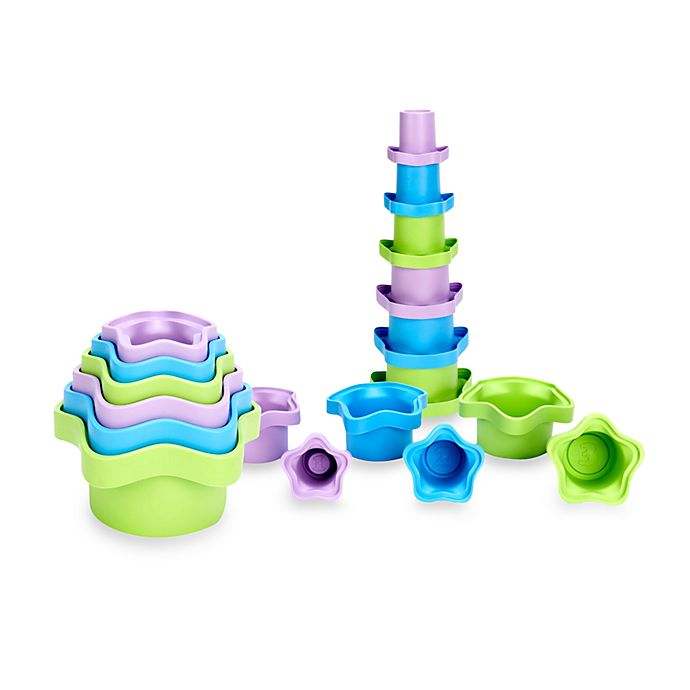 Alternate image 1 for Green Toys™ Stacking Cups