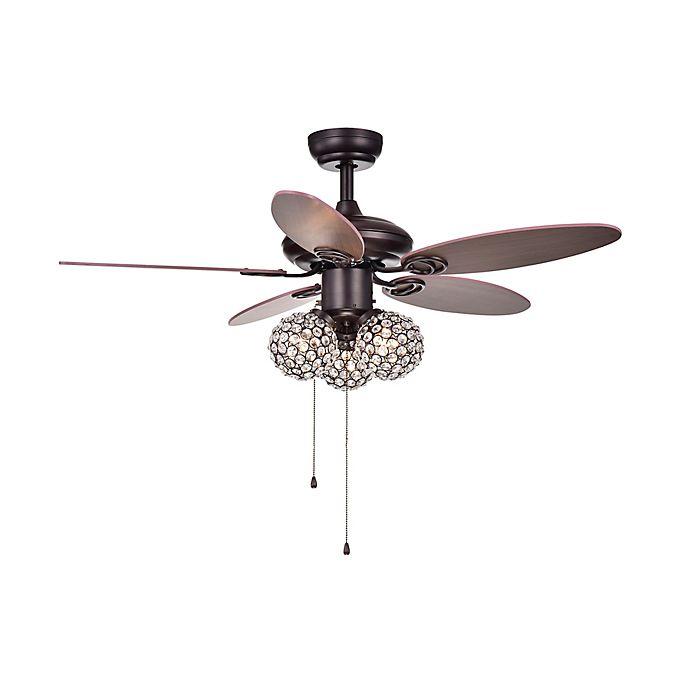 Casimer 42 Inch 3 Light Ceiling Fan In Bronze Bed Bath Beyond