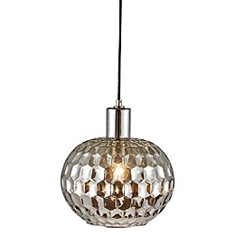 Madison Park Dayton 1-Light Pendant Light in Grey