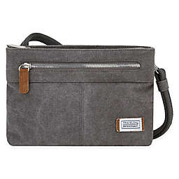 Travelon® Anti-Theft Heritage Small Crossbody Bag in Pewter