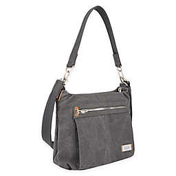Travelon® Anti-Theft Heritage Hobo Bag in Pewter
