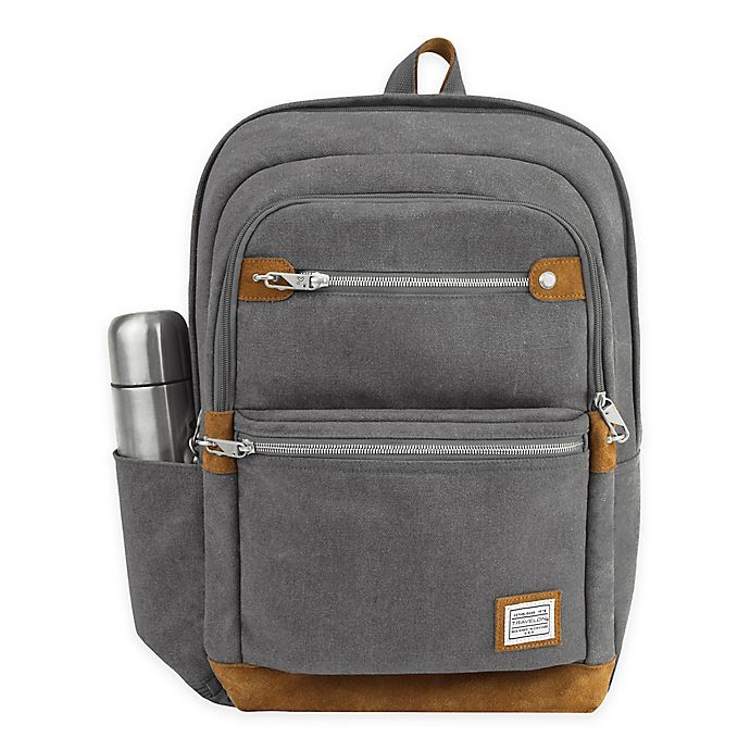 Alternate image 1 for Travelon® Anti-Theft Heritage Backpack
