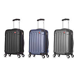 DUKAP® Intely 20-Inch Rolling Smart Carry On Luggage with USB Port
