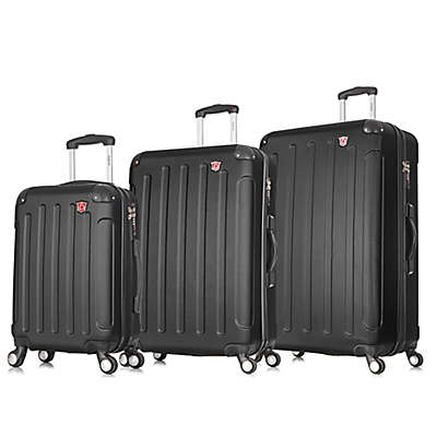 DUKAP® Intely 3-Piece Hardside Spinner Smart Featured Luggage Set