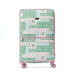 Macbeth Collection® by Margaret Josephs PrepSet 28-Inch Spinner Checked Luggage in Green