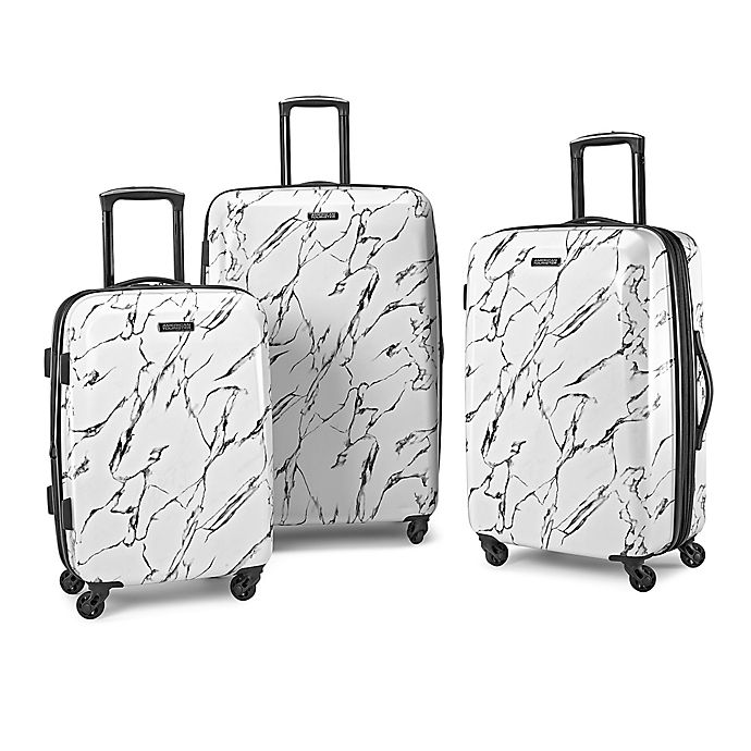 Alternate image 1 for American Tourister® Moonlight Hardside Spinner Luggage Collection in Marble