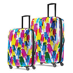 American Tourister® Moonlight Hardside Spinner Checked Luggage in Popsicle