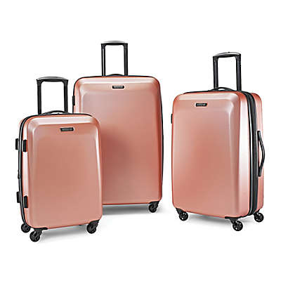 American Tourister® Moonlight Hardside Spinner Luggage Collection in Rose Gold