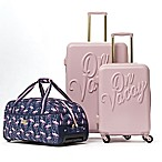 Macbeth Collection® by Margaret Josephs On Vacay 3-Piece Nested Luggage Set in Pink