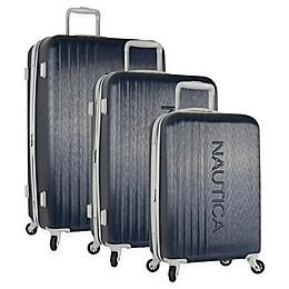 Nautica® Life Boat 3-Piece Hardside Spinner Luggage Set