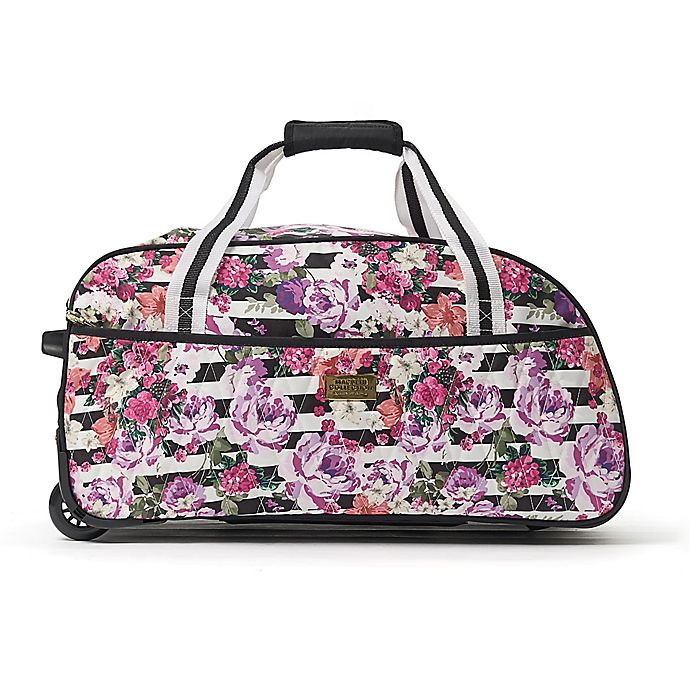 Macbeth Collection® by Margaret Josephs Out of Office 21.5-Inch Rolling  Duffle Bag in White 3765caa8d85b2