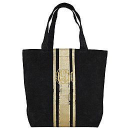 CB Station Brushed Canvas with Paintstroke Stripes Tote