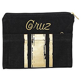 CB Station Brushed Canvas Pocket Clutch