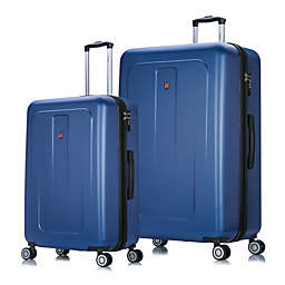 DUKAP® Crypto Hardside Spinner Checked Luggage